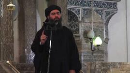 الحكومة العراقية: التسجيل المصور الذي يزعم أنه للبغدادي مزيف