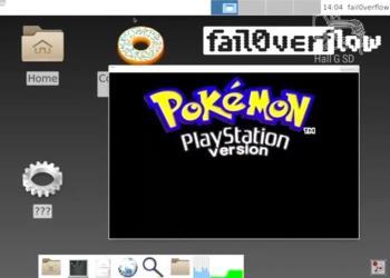 playstation 4 hacked run linux
