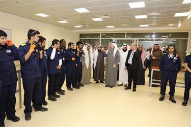 وزير العمل لمتدربين سعوديين في مجال صيانة الطائرات: وطنكم يفتخر بكم وينتظر مساهمتكم