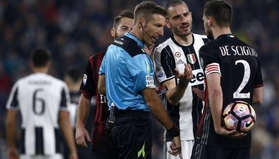 الشرطة الإيطالية تحقق في التهديدات التي تلقاها حكم مباراة يوفنتوس وميلان