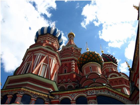 أما روسيا, فحلت في المركز التاسع، بعدد زائريها الذي وصل إلى 28.4 مليون زائر سنويًا .