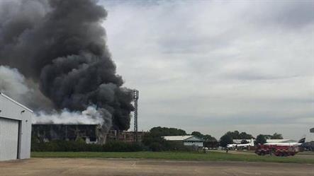 أنباء عن انفجار قرب مطار ساوثند في لندن