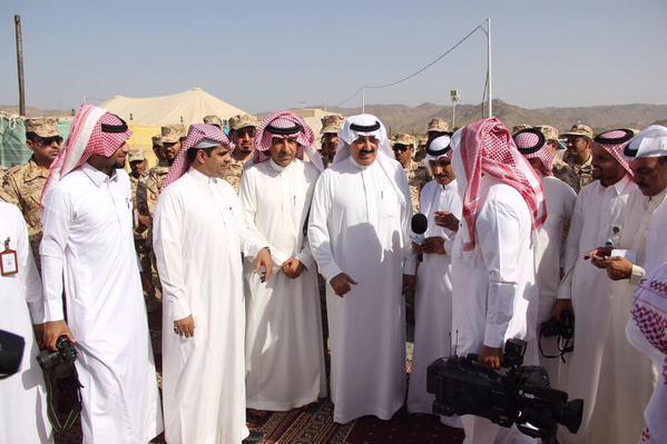 """""""متعب بن عبدالله"""": تشكيل إدارة للمرابطين على الحدود الشمالية والجنوبية (صور)"""