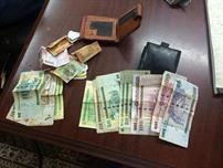 العملات النقدية المضبوطة