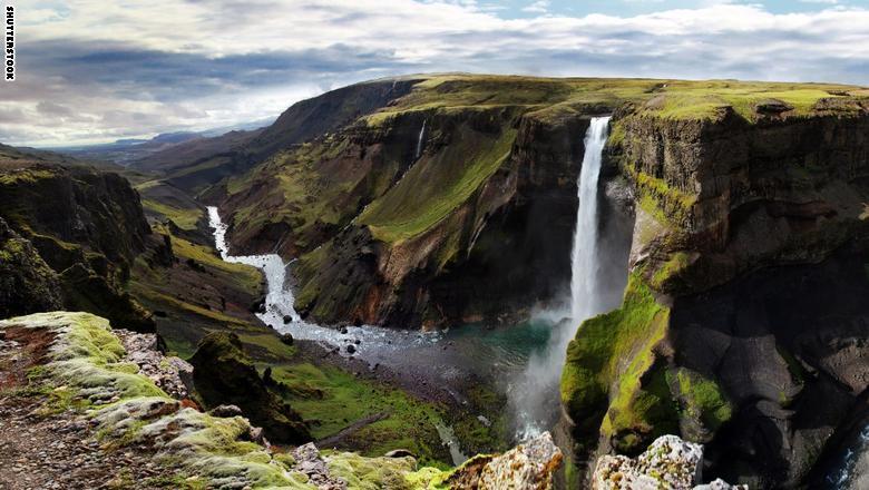 """شلال """"هايفوس""""، أيسلندا"""