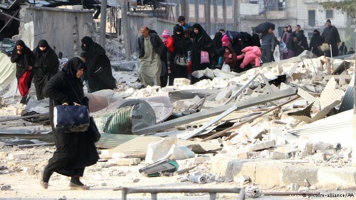 حلب تئن تحت القصف والجوع ـ كارثة إنسانية بامتياز