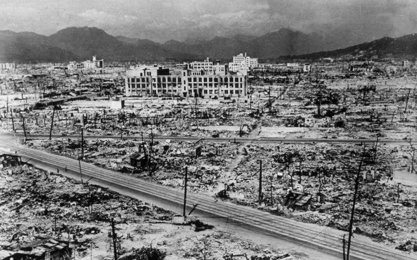 """وتسببت القنبلة في دمار 70% من الأبنية في المدينة التي تعد أحد أهم المراكز الصناعية على السواحل الجنوبية لجزيرة """"هونشو"""" اليابان"""