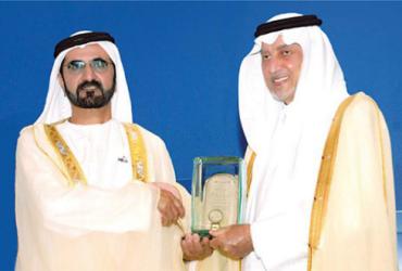 خالد الفيصل ومحمد بن راشد