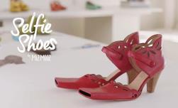 حذاء السيلفي