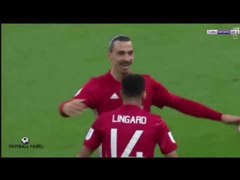 مانشستر يونايتد ( 3 - 2 ) ساوثهامتون كأس الرابطة الانجليزية