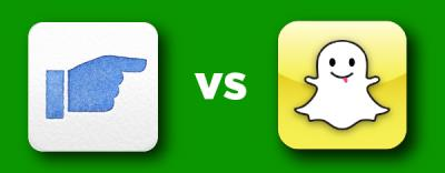 Facebook and Snapchat Fight 2