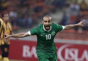 محمد السهلاوي هداف تصفيات كأس العالم ويعادل رقم سامي الجابر