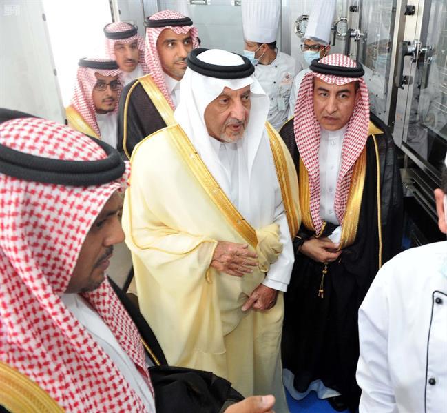 بالصور.. خالد الفيصل يزور مشاريع المشاعر.. ويؤكد: لن نسمح بأي شيء يهدد أمان الحجاج