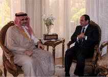 السيسي يستقبل الوليد بن طلال: شكرًا لك وللسعودية