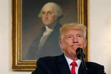 ترامب يندد بالعنصرية بعد احتجاجات فرجينيا