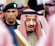 بالصور.. العقيد الفغم يعود للظهور من جديد حارساً شخصياً للملك سلمان