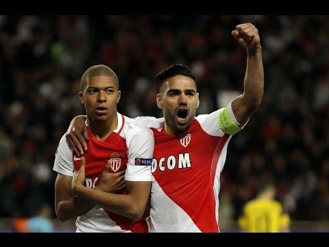 موناكو ( 3 - 1 ) بوروسيا دورتموند دوري ابطال اوروبا
