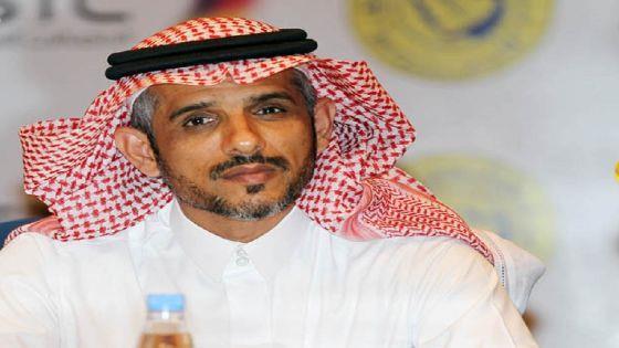 نتيجة بحث الصور عن سلمان القريني امين عام نادي النصر