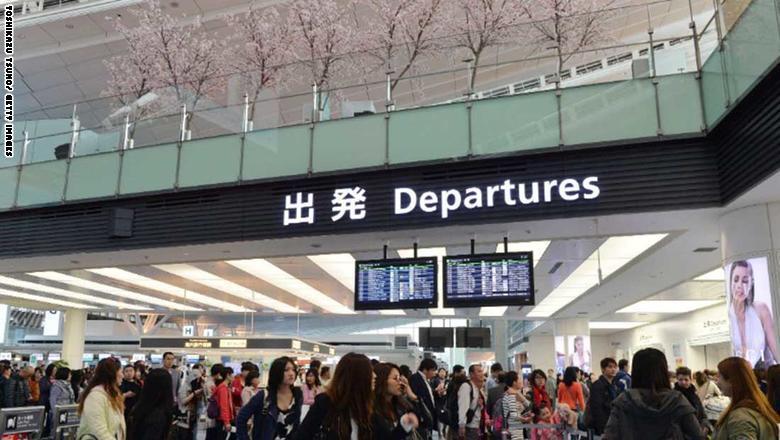 2. مطار طوكيو هانيدا الدولي في اليابان