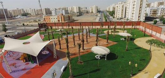 أمين جدة يفتتح حديقة الواحة النسائية جنوب جدة