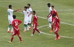 منتخب السعودي الاولمبي ومنتخب نيبال الأولمبي