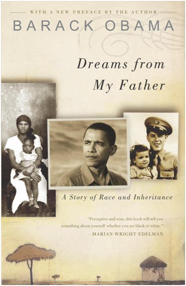 """حاز """"أوباما"""" على جائزة """"الجرامي"""" لإصدارات الكتب المسموعة، التي تقدمها الأكاديمية الوطنية لتسجيل الفنون والعلوم،  وذلك عن كتابي"""