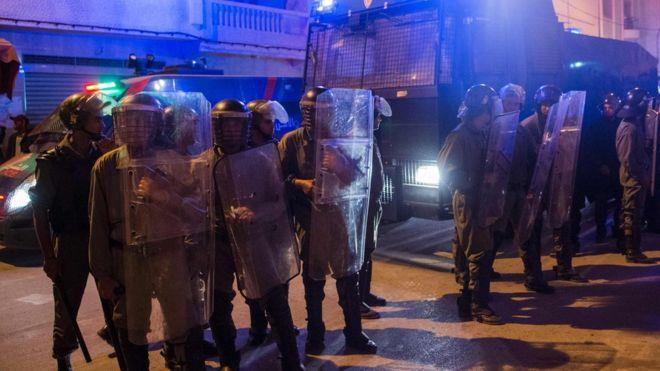 توقيف ناصر زفزافي زعيم الحراك في #الحسيمة — مصدر حكومي مغربي