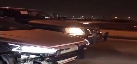 أخبار 24   شاهد..  المرور  يداهم موقع تفحيط بالرياض ويطيح بالمخالفين