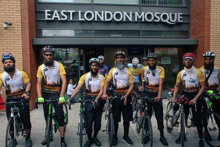 شاهد.. 8 بريطانيين ينطلقون من لندن إلى السعودية على دراجاتهم لأداء فريضة الحج