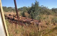 مقتل العشرات إثر خروج قطار عن مساره في الكونغو