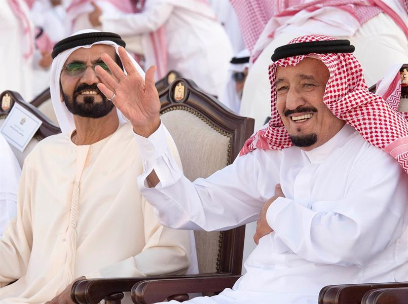 هاشتاقات جولة الملك سلمان الخليجية..