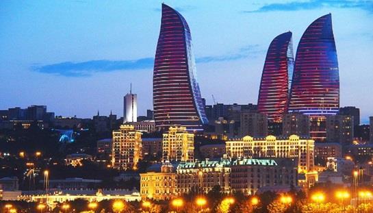"""""""فليم تاورز """" أو الأبراج المشتعلة في دولة """"أذربيجان"""""""