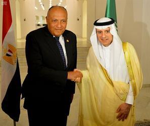 وزير الخارجية يؤكد عمق العلاقات السعودية المصرية