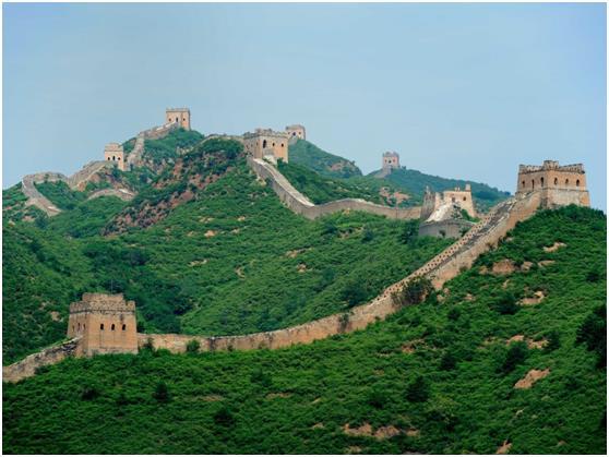 وحلت الصين بالمركز الرابع تأتي، بواقع 55.7 مليون زائر سنويًا .