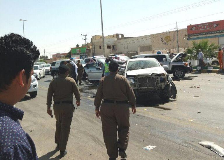 حادث مروري في موكب أمير الرياض...