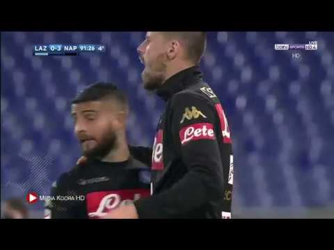 لاتسيو ( 0 - 3 ) نابولي الدوري الايطالي