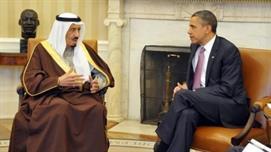 الملك سلمان واوباما