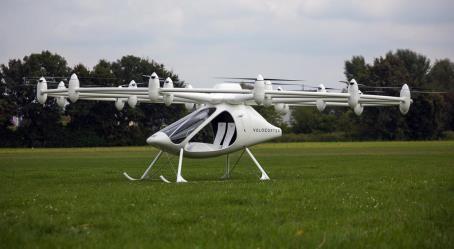 طائرة volocopter المروحية صديقة البيئة