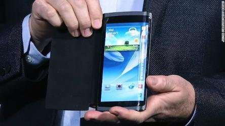 curved screen phone