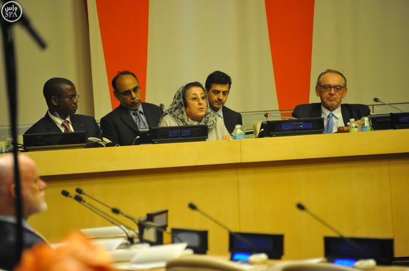 بالصور.. الأمم المتحدة تكرم الدكتورة ثريا عبيد عضو مجلس الشورى