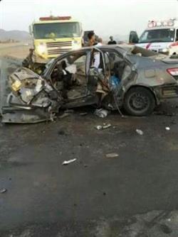 مصرع 7 معتمرين وإصابة 6 في حادث مروري مروع
