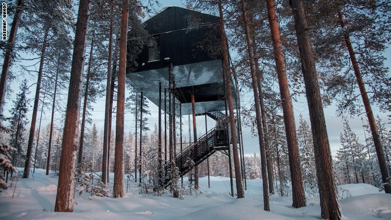 """""""Tree Hotel"""" - السويد"""