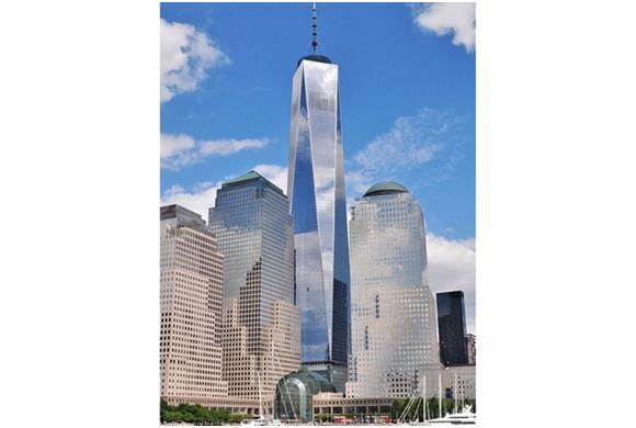 مركز التجارة العالمي هو أطول برج في الولايات المتحدة الأمريكية بارتفاع يبلغ 541 مترًا، أنشأته هيئة ميناء نيويورك ونيوجيرسي بمع