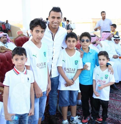 """بالصور .. نادي الفروسية يكرم عبدالشافي ويطلق عليه لقب """" فارس """""""