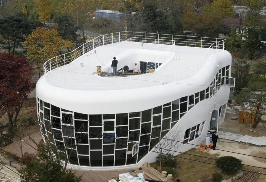 أغرب تصاميم المنازل حول العالم