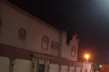مجهولون يحرقون منزل نائب رئيس المجلس البلدي السابق وسط العوامية