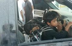 """شرطة الشرقية: """"مواطن الأحساء"""" كبل نفسه والطفل للحصول على مساعدة مالية"""