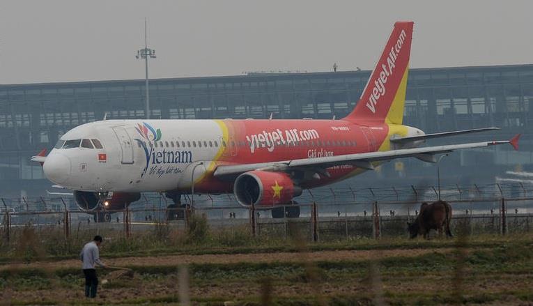 """وفي يونيو/حزيران الماضي هبطت طائرة تابعة لخطوط """"VietJet"""" متوجهة من هانوي بفيتنام إلى مطار """"كام رانه"""" في """"دا لات"""""""