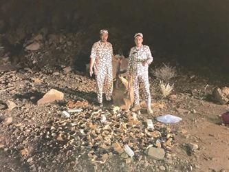 """بالصور.. """"المجاهدين"""" تحبط تهريب كمية كبيرة من الأسلحة للمملكة عبر  الحدود مع اليمن"""
