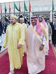 ملك المغرب يغادر الرياض